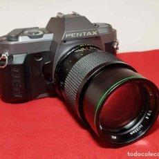 Cámara de fotos: CAMARA PENTAX P30 T, CON TELE 2.8 135 MM. Lote 192800366