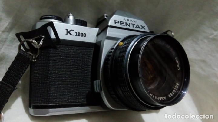 CÁMARA PENTAX K1000 ASAHI (Cámaras Fotográficas - Réflex (no autofoco))
