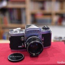 Cámara de fotos: CÁMARA REFLEX MIRANDA G CON OBJETIVO ORIGINAL. Lote 194381455