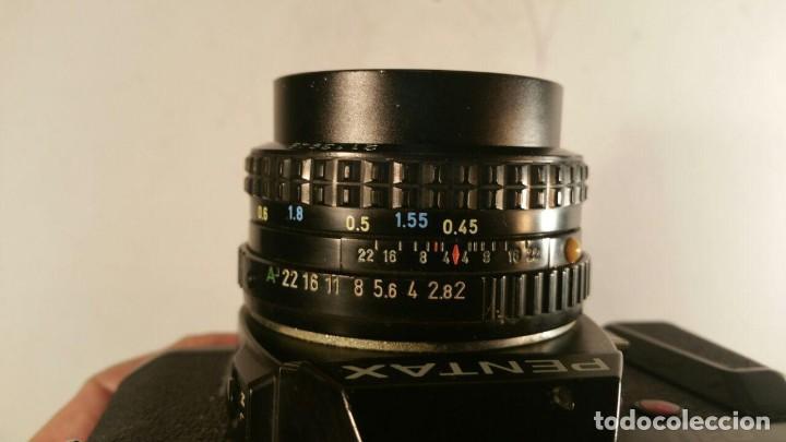 Cámara de fotos: CAMARA PENTAX P30 OBJETIVO PENTAX-A SMC 1.2 50mm - Foto 6 - 194393606