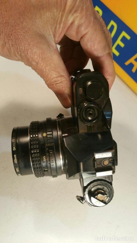Cámara de fotos: CAMARA PENTAX P30 OBJETIVO PENTAX-A SMC 1.2 50mm - Foto 9 - 194393606
