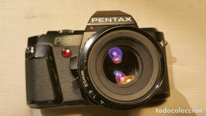 CAMARA PENTAX P30 OBJETIVO PENTAX-A SMC 1.2 50MM (Cámaras Fotográficas - Réflex (no autofoco))