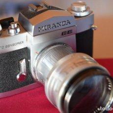 Cámara de fotos: CÁMARA REFLEX MIRANDA AUTO SENSOREX EE CON OBJETIVO ESPECIAL CARL ZEISS. Lote 194401140