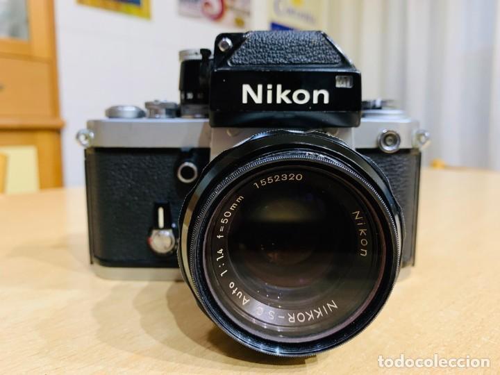 NIKON F2 CON 50MM 1.4 (Cámaras Fotográficas - Réflex (no autofoco))