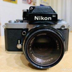Cámara de fotos: NIKON F2 CON 50MM 1.4. Lote 194685865