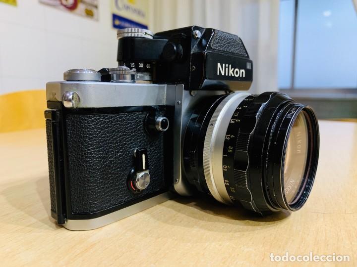 Cámara de fotos: NIKON F2 CON 50MM 1.4 - Foto 2 - 194685865