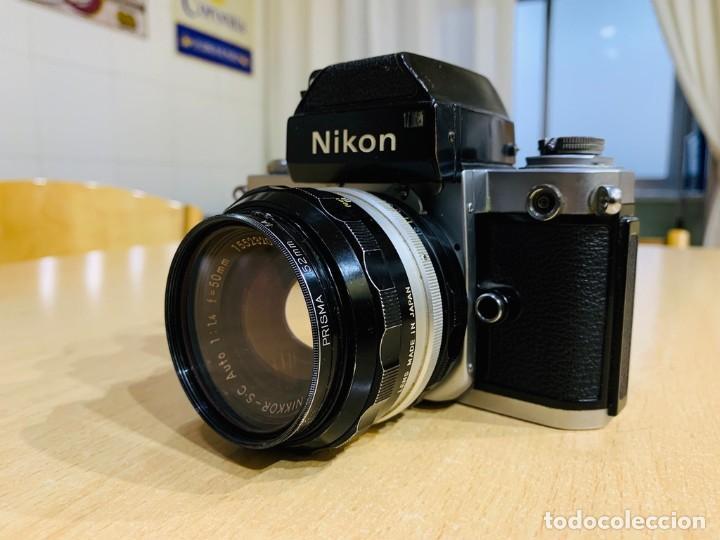 Cámara de fotos: NIKON F2 CON 50MM 1.4 - Foto 3 - 194685865