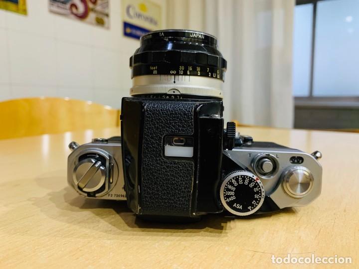Cámara de fotos: NIKON F2 CON 50MM 1.4 - Foto 4 - 194685865