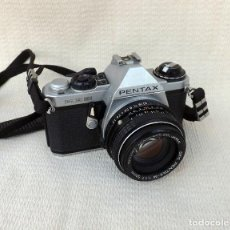 Cámara de fotos: CÁMARA FOTOGRÁFICA PENTAX ME SUPER- OBJETIVO ASAHI 50 MM JAPAN. Lote 194737581