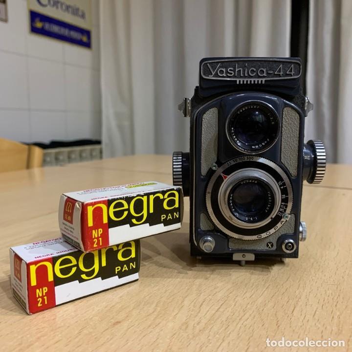 YASHICA 44 (Cámaras Fotográficas - Réflex (no autofoco))