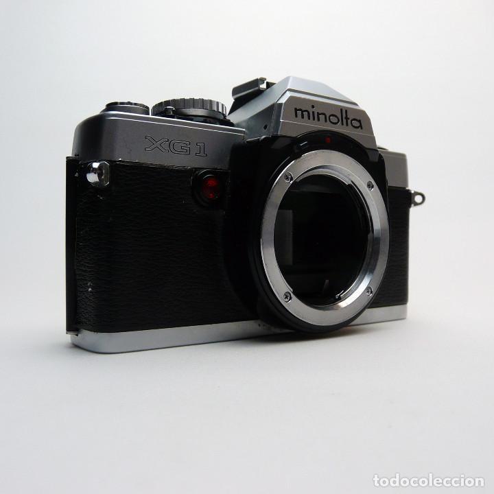 CAMARA REFLEX ANALOGICA MINOLTA XG-1-DEFECTUOSA-REF 28 (Cámaras Fotográficas - Réflex (no autofoco))