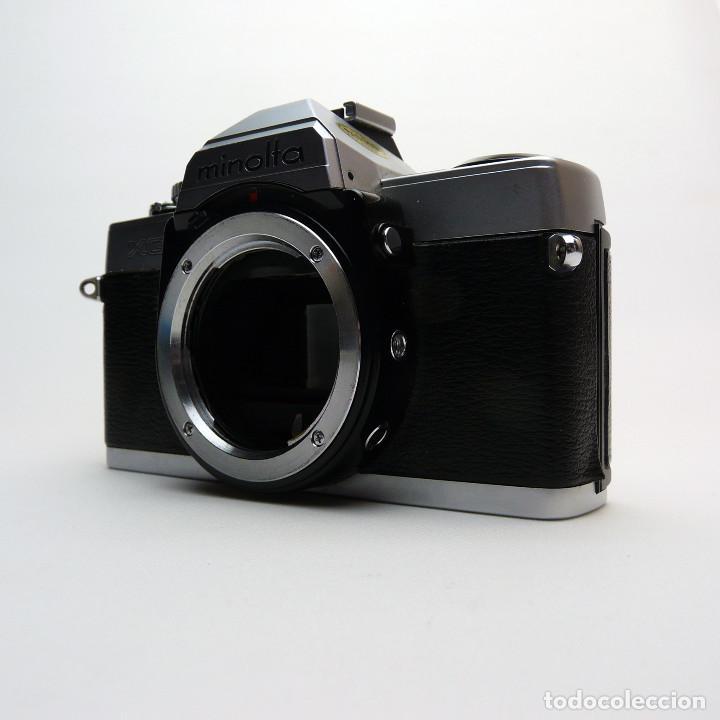 Cámara de fotos: CAMARA REFLEX ANALOGICA MINOLTA XG-1-defectuosa-Ref 28 - Foto 3 - 194954186