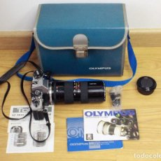 Cámara de fotos: OLYMPUS OM-10 (TAMRON ZOOM MACRO 1:4.5 F=85-210MM). Lote 195332812