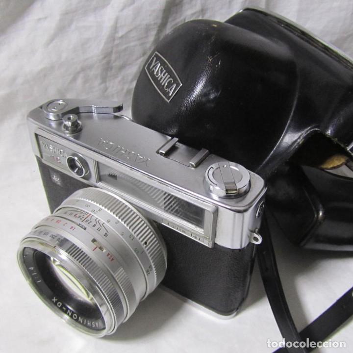 CÁMARA FOTOGRÁFICA YASHICA IC CON FUNDA ORIGINAL (Cámaras Fotográficas - Réflex (no autofoco))