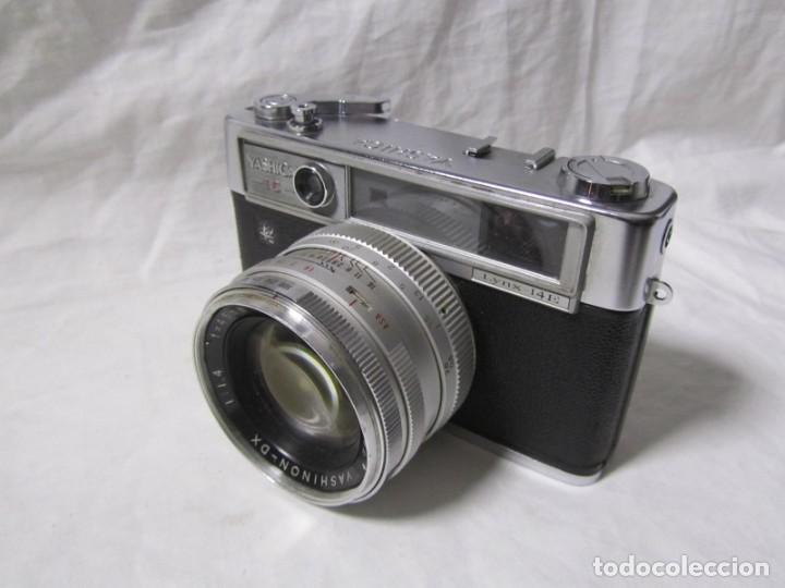 Cámara de fotos: Cámara fotográfica Yashica IC con funda original - Foto 2 - 195665512