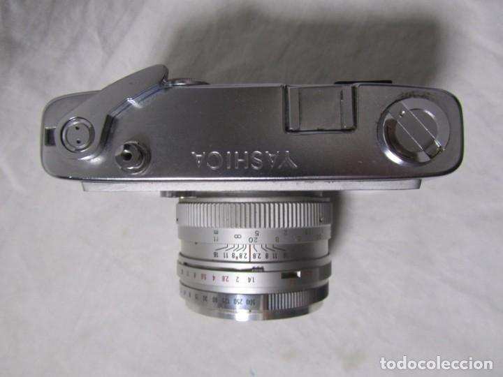 Cámara de fotos: Cámara fotográfica Yashica IC con funda original - Foto 3 - 195665512