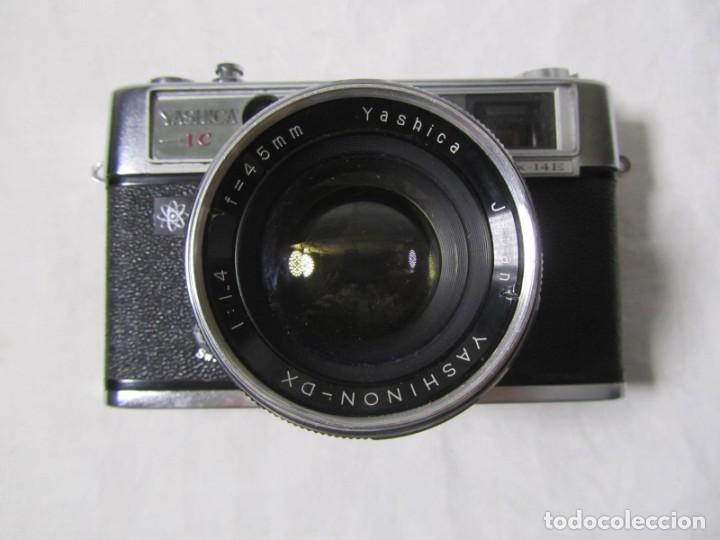 Cámara de fotos: Cámara fotográfica Yashica IC con funda original - Foto 5 - 195665512