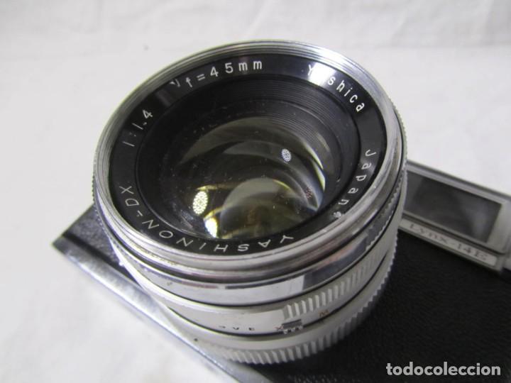 Cámara de fotos: Cámara fotográfica Yashica IC con funda original - Foto 9 - 195665512