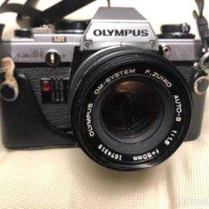 Cámara de fotos: MAQUINA OLYMPUS OM10. Lote 195826655