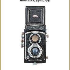 Cámara de fotos: YASHICAFLEX C LLAMATIVA TLR JAPONESA DE 1955. EN BUEN ESTADO DE CONSERVACION.. Lote 295534138