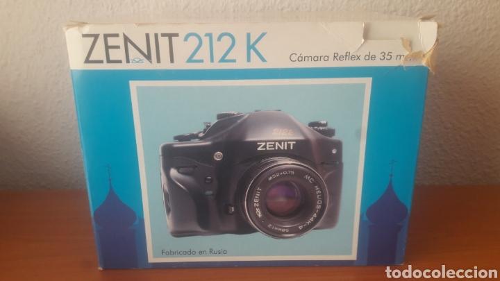 ZENIT 212 K (Cámaras Fotográficas - Réflex (no autofoco))