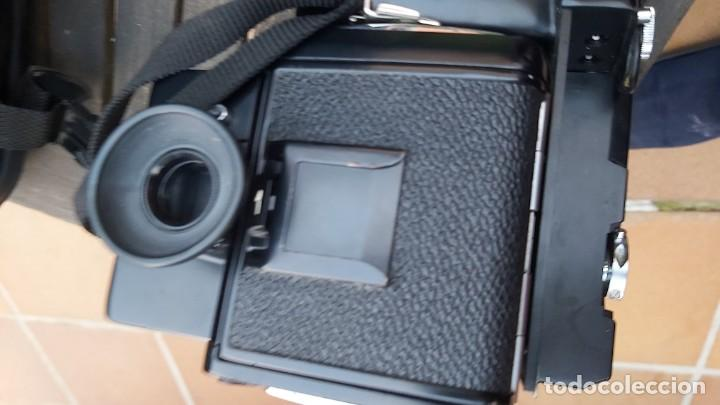 Cámara de fotos: CAMARA DE FORMATO MEDIO MAMIYA 645 CON 2 OBJETIVOS, MOTOR, CHASIS Y BOLSA - Foto 3 - 198361037