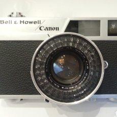 Cámara de fotos: CAMARA FOTOGRAFICA CANON BELL & HOWELL CANONET 19, RARO MODELO PARA EL MERCADO AMERICANO. Lote 198462963