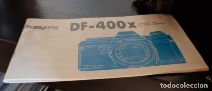 Cámara de fotos: SAMYANG DF 400 X CON FLASH DOBLE + JUEGO DE FILTROS + GUIA MANUAL DE INSTRUCCIONES - Foto 8 - 198613795