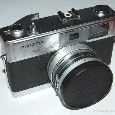 Cámara de fotos: CAMARA DE FOTOS MINOLTA HI-MATIC 9 CON FUNDA E INSTRUCCIONES. Lote 198846431