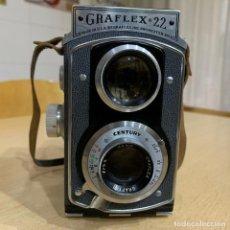 Cámara de fotos: GRAFLEX 22 MODELO 200. Lote 198980982