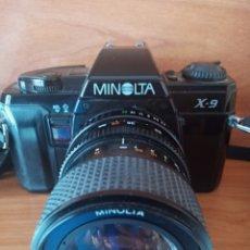Cámara de fotos: CÁMARA MINOLTA X - 9. Lote 200035652
