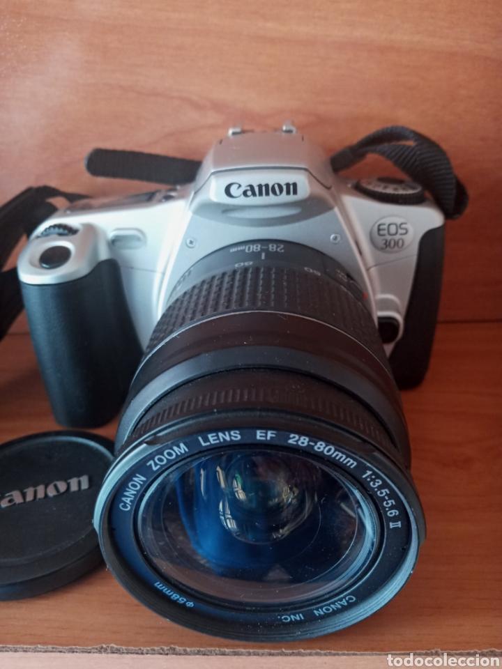 CÁMARA CANON EOS 300 (Cámaras Fotográficas - Réflex (no autofoco))