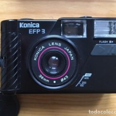 Cámara de fotos: CÁMARA KONICA EFP3, 35 MM. JAPONESA. AÑO 1990.. Lote 223271878
