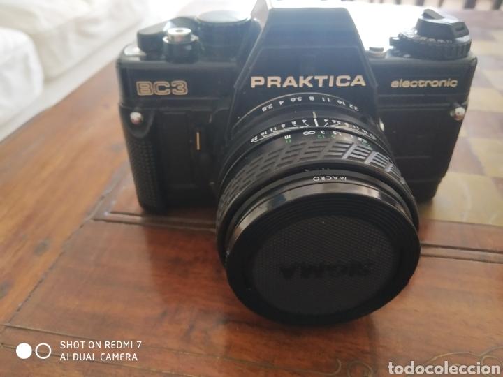 Cámara de fotos: Camara praktica BC3 con 2 objetivos extras y maleta - Foto 2 - 50521804