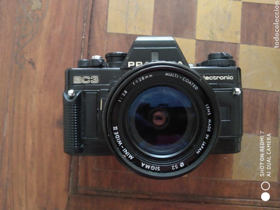 Cámara de fotos: Camara praktica BC3 con 2 objetivos extras y maleta - Foto 3 - 50521804