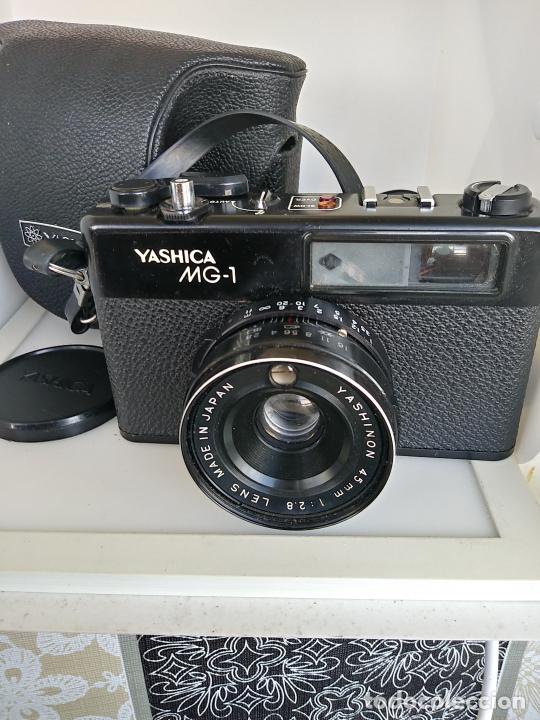 Cámara de fotos: Cámara Yashica MG1 con funda Japón - Foto 3 - 202961450