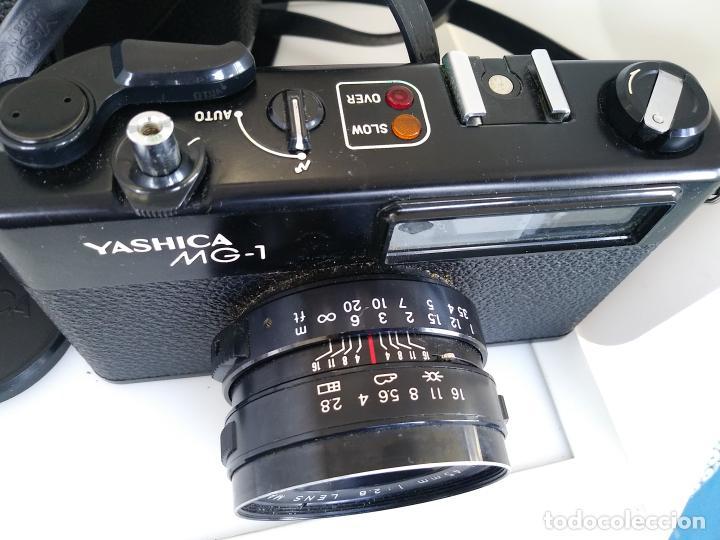 Cámara de fotos: Cámara Yashica MG1 con funda Japón - Foto 4 - 202961450