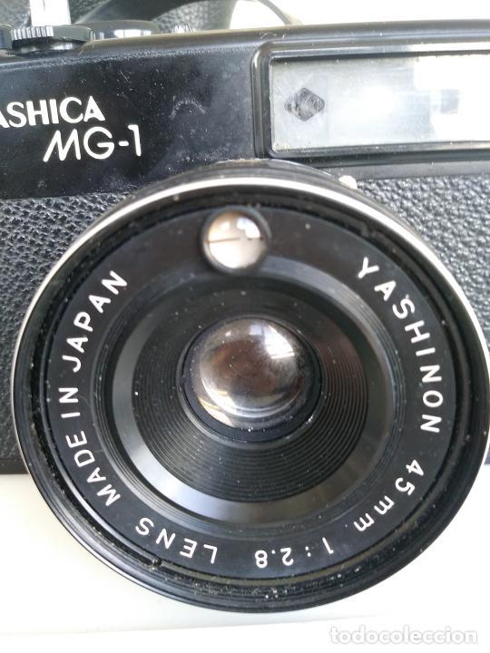 Cámara de fotos: Cámara Yashica MG1 con funda Japón - Foto 5 - 202961450