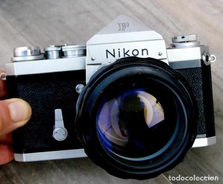 NIKON F.PRISMA SIN FOT.* + 85 NIKON F/1,8 (Cámaras Fotográficas - Réflex (no autofoco))
