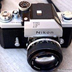 Cámara de fotos: NIKON F PHOTOMIC.CON NIKON 50 F/1,4,. Lote 205393876