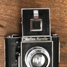 Fotocamere: CAMARA ANALOGICA REFLEX-KORELLE. ALEMANIA. F=2,8 F=7,5 CM.. Lote 205793411