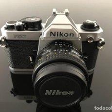 Cámara de fotos: NIKON FM2 + NIKKOR 50MM 1.8. Lote 206956423