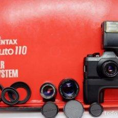 Cámara de fotos: ASAHI PENTAX, AUTO 110. Lote 207006232