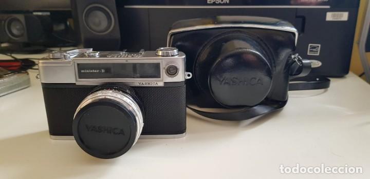 Cámara de fotos: CÁMARA FOTOGRÁFICA YASHICA MINISTER D. (CIRCA 1965). JAPÓN - Foto 2 - 207016740
