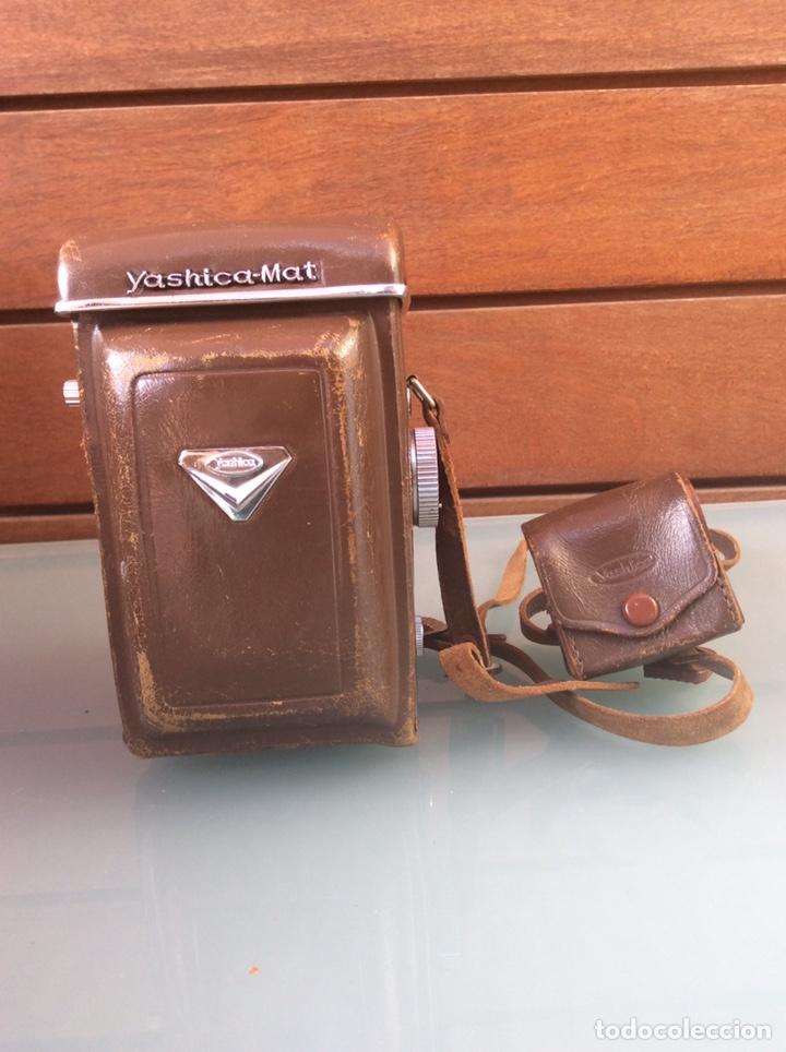 Cámara de fotos: CÁMARA YASHICA MAT OBJETIVO MXV COPAL CON FUNDA ORIGINAL AÑOS 50/60 +MÁS PARASOL - Foto 8 - 207649346