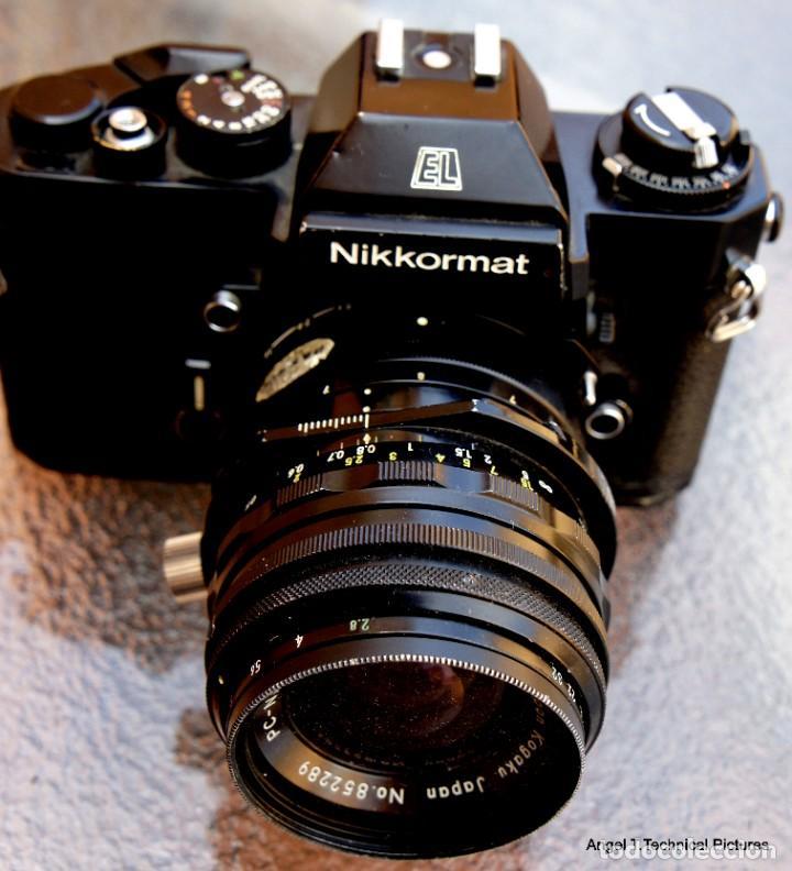 NIKON NIKKORMAL EL + 35 MM. DESCENTRABLE.PC NIKKOR. (Cámaras Fotográficas - Réflex (no autofoco))