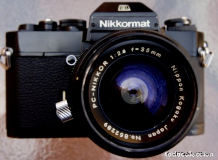 Cámara de fotos: Nikon Nikkormal EL + 35 mm. Descentrable.PC Nikkor. - Foto 2 - 207972316