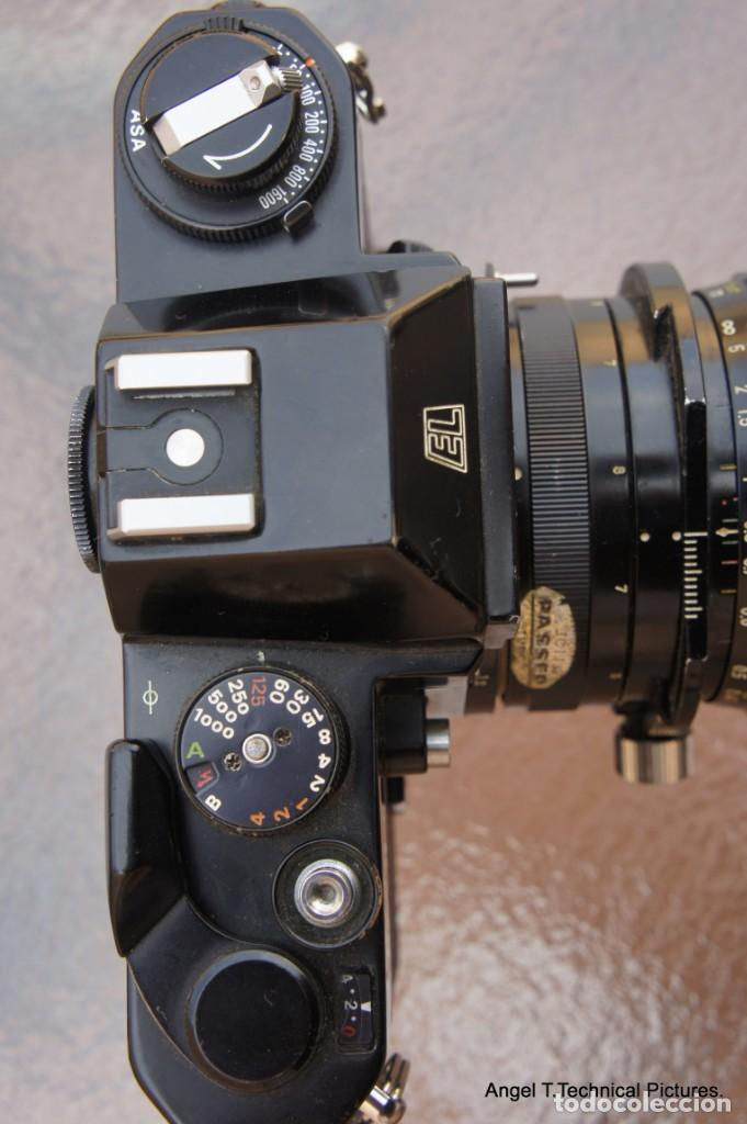 Cámara de fotos: Nikon Nikkormal EL + 35 mm. Descentrable.PC Nikkor. - Foto 3 - 207972316