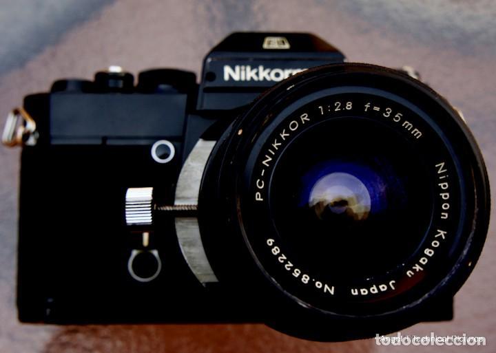 Cámara de fotos: Nikon Nikkormal EL + 35 mm. Descentrable.PC Nikkor. - Foto 6 - 207972316