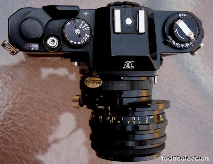 Cámara de fotos: Nikon Nikkormal EL + 35 mm. Descentrable.PC Nikkor. - Foto 8 - 207972316